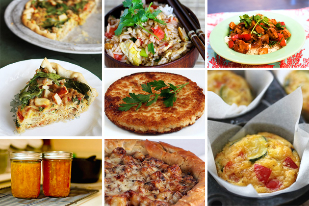 Tasty Kitchen Blog: The Theme is Leftovers! (Vegetables)