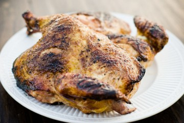 Tasty Kitchen Blog: How To Flatten a Chicken for Grilling. Guest post by Jaden Hair of Steamy Kitchen.