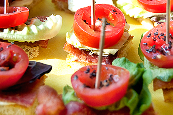 Tasty Kitchen Blog: How To Flatten a Chicken for Grilling (BLT Bites, recipe submitted by TK member LanaAnn)