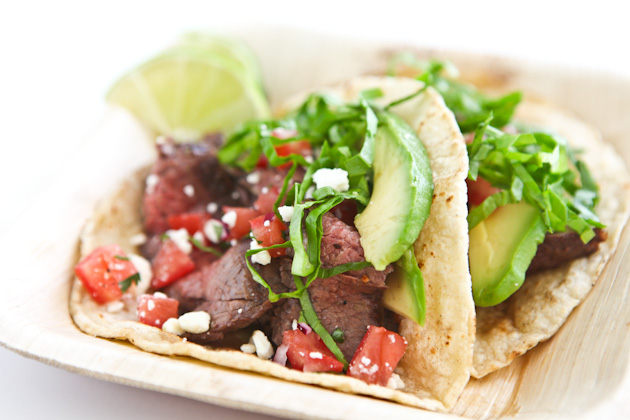 Tasty Kitchen Blog: Taco-Mania! Guest post by Jaden Hair of Steamy Kitchen (Steak)
