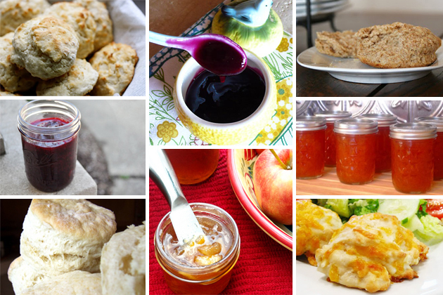 Buttermilk Biscuit Muffins With Ginger Plum Jam Recipes — Dishmaps