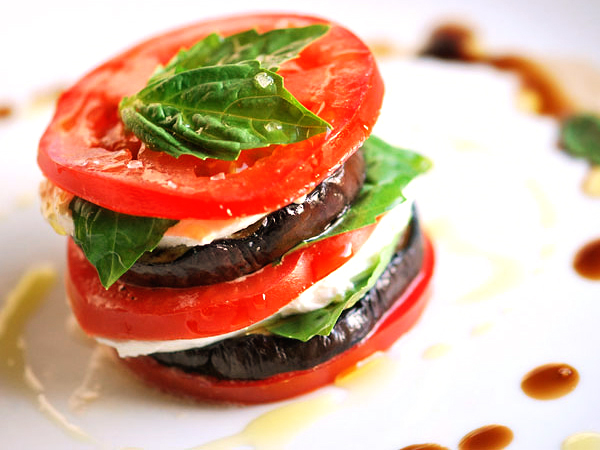 Tasty Kitchen: Blog In Season! (Eggplant and Tomato Napoleons, from TK member Inspired Taste)