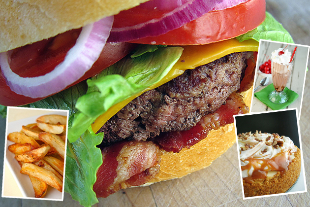 Tasty Kitchen Blog: Burgers, Shakes, Fries and Don't Forget the Apple Pie! Guest post by Jaden Hair of Steamy Kitchen.