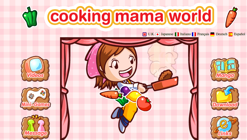 Tasty Kitchen Blog: Food Games (Cooking Mama). Guest post by Jaden Hair of Steamy Kitchen.