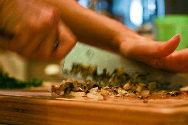 Tasty Kitchen Blog: Greekin' Up Spaghetti! Guest post by Jaden Hair of Steamy Kitchen.
