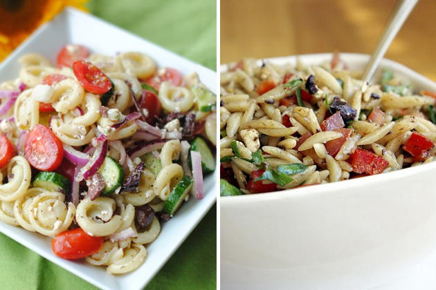 Tasty Kitchen Blog: A Pasta Salad Tour (Mediterranean)