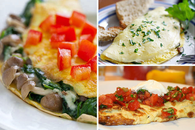 Tasty Kitchen Blog: Breakfast Eggs in 20 Minutes or Less (Omelet)