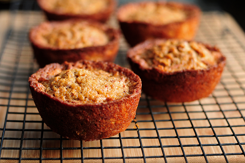 Tasty Kitchen Blog: Pecan Pie Muffins. Guest post by Amy Johnson of She Wears Many Hats, recipe submitted by TK member blackhawkwife.