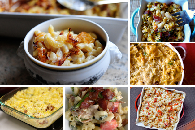 Tasty Kitchen Blog: The Theme is Mac and Cheese! (With Meat)