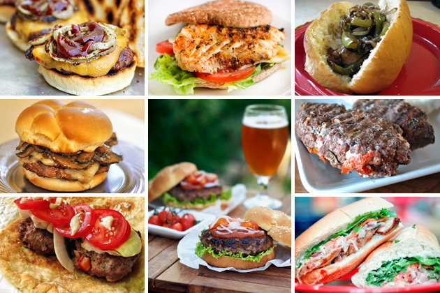 Tasty Kitchen Blog: The Theme is The Grill! (Burgers)