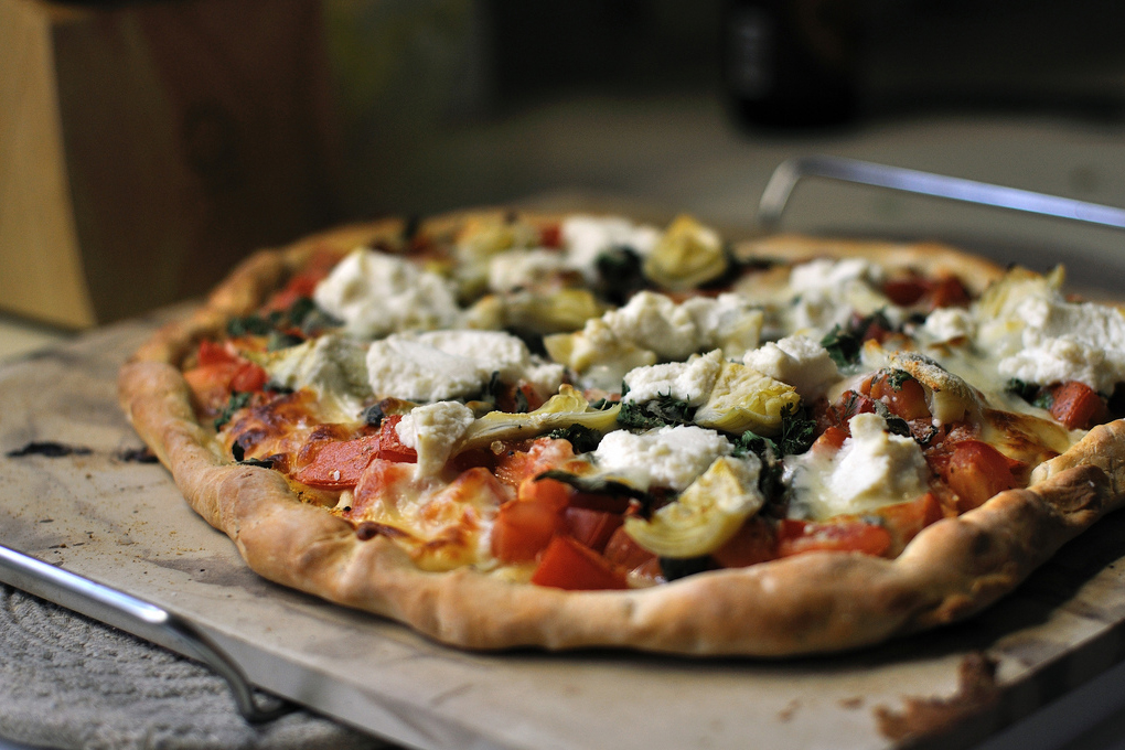 Tasty Kitchen Blog: Looks Delicious! (Classic Pizza Margherita, submitted by TK member Jessica of Kohler Created)