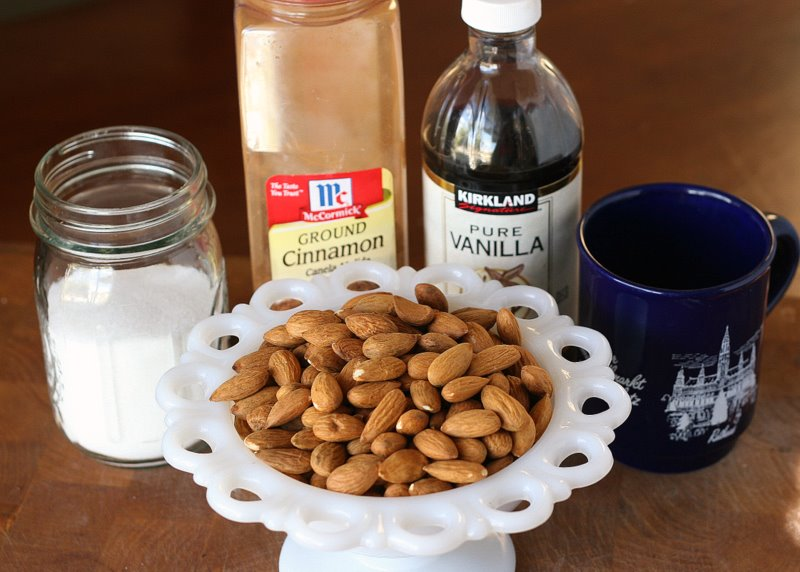 Tasty Kitchen Blog: Burnt Sugar Almonds. Guest post by Natalie Perry of Perry's Plate, recipe submitted by TK member Birgit Kerr of Scrapalicious Bytes.