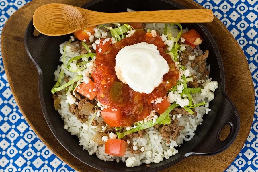 tasty kitchen blog tasty kitchen blog okinawan takoraisu taco rice guest - Rice Kitchen