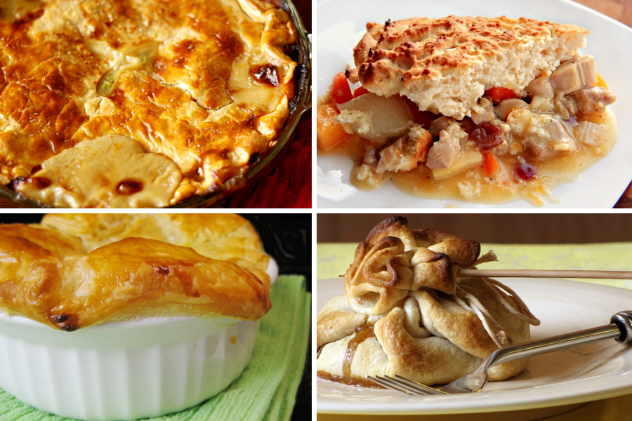 Tasty Kitchen Blog: Thanksgiving Leftovers (Pot Pies)