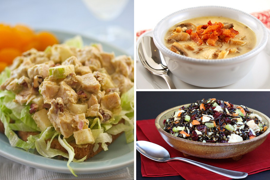 Tasty Kitchen Blog: Thanksgiving Leftovers (Soup and Salad)