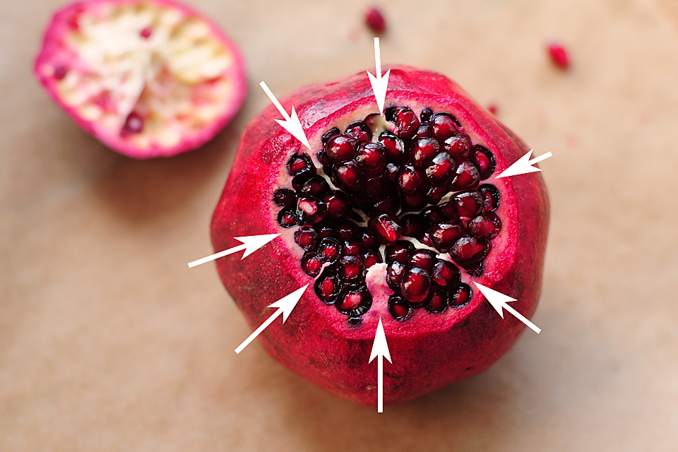How To Open A Pomegranate Tasty Kitchen Blog