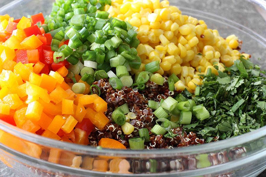 recipe: quinoa black bean salad recipes [16]