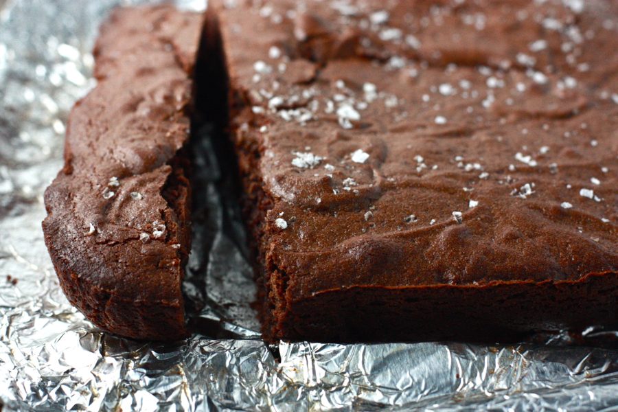 Tasty Kitchen Blog: Salted Fudge Brownies. Guest post by Jenna Weber ...