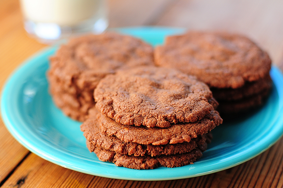 Tasty Kitchen Blog: Nutella Cookies. Guest post by Amy Johnson of She Wears Many Hats, recipe submitted by TK members Edie, Jennifer and Meredith of A Busy Nest.