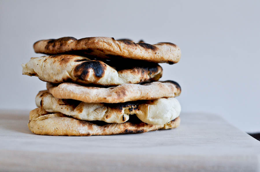 Tasty Kitchen Blog: Homemade Naan. Guest post by Jessica Merchant of How Sweet It Is, recipe submitted by TK member Prerna of Indian Simmer.