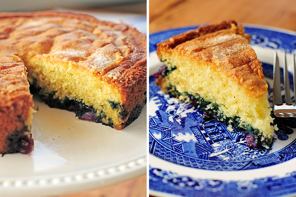 Tasty Kitchen Blog: Blueberry Lemon Buttermilk Cake. Guest post by Amy Johnson of She Wears Many Hats, recipe submitted by TK member Valery Bunnell (valery).