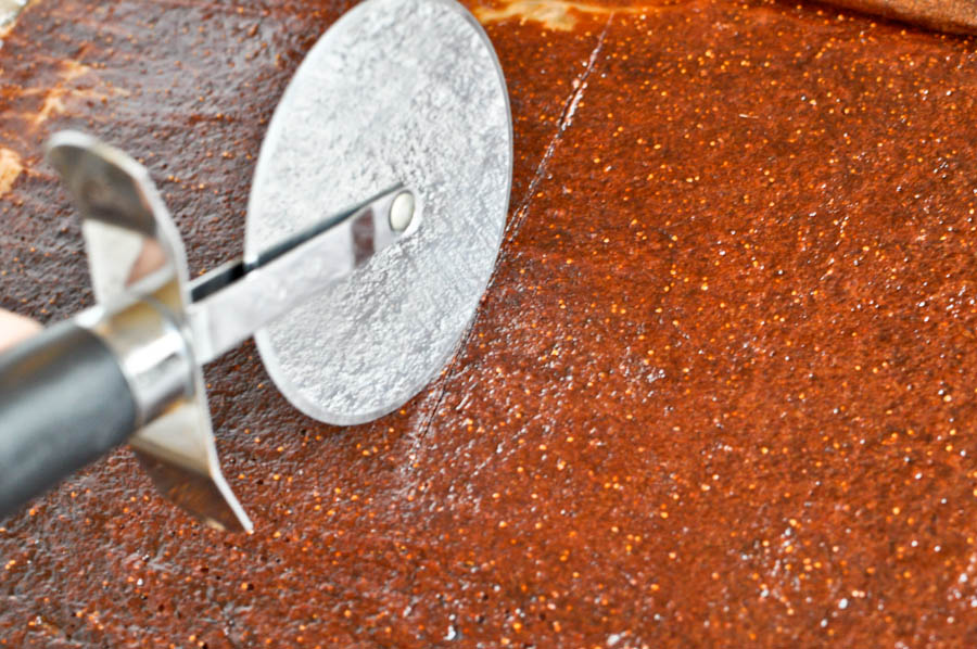 Tasty Kitchen Blog: Homemade Fruit Leather. Guest post by Jessica Merchant of How Sweet It Is, recipe submitted by TK member Georgia Pellegrini.
