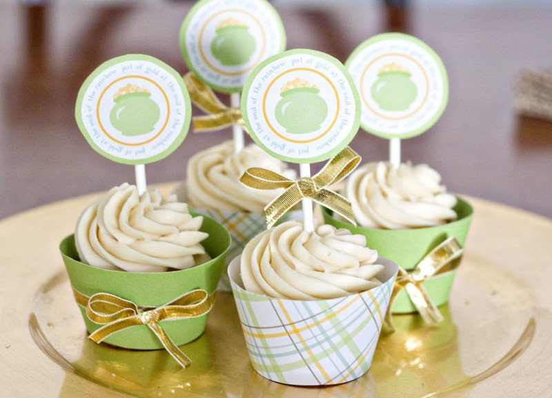 Tasty Kitchen Blog: Looks Delicious! Irish Cream in Desserts (Irish Cream Cupcakes, submitted by TK member Erica of Sweet Tooth)