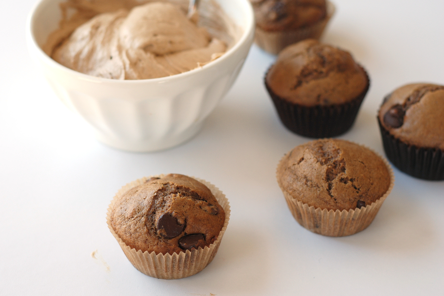 Tasty Kitchen Blog Via Cappuccino Muffins. Guest post by Erica Kastner of Cooking for Seven, recipe submitted by TK member Nancy (nanycpants) of Consider the Lilies.