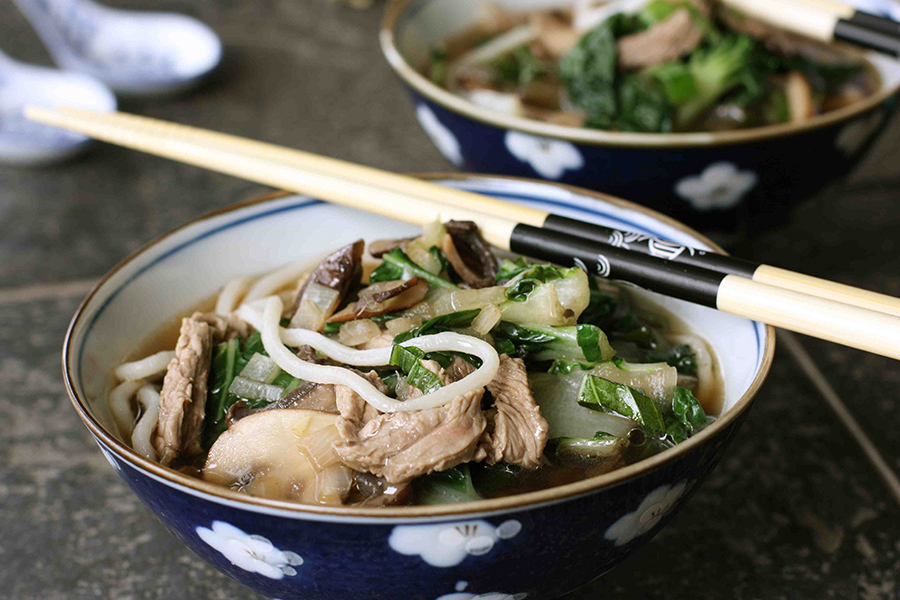 Tasty Kitchen Blog: Easy Asian Beef and Noodle Soup. Guest post by Dara Michalski of Cookin' Canuck, recipe submitted by TK member Mary Helen (mhorama) of Mary Makes Dinner.