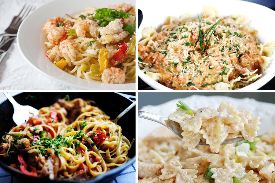 Tasty Kitchen Blog: Mardi Gras! (Pasta)