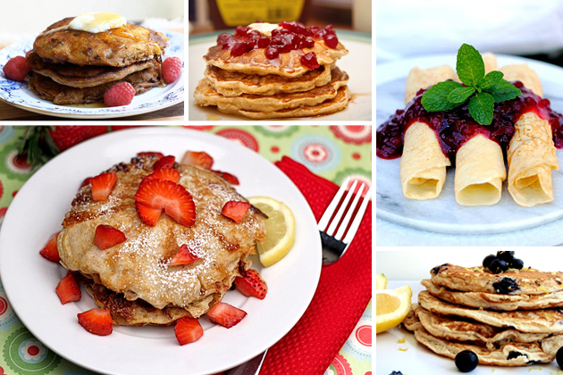 Tasty Kitchen Blog The Theme is Pancakes (Healthy)