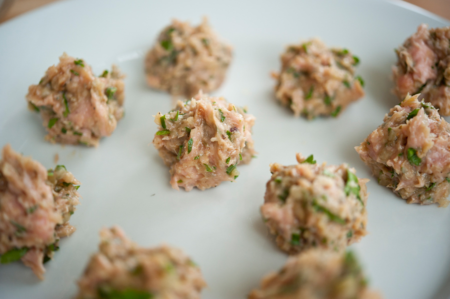 Tasty Kitchen Blog: Turkey Swedish Meatballs. Guest post by Georgia Pellegrini, recipe submitted by TK member GottaFeedEmAll (panditsgirl).
