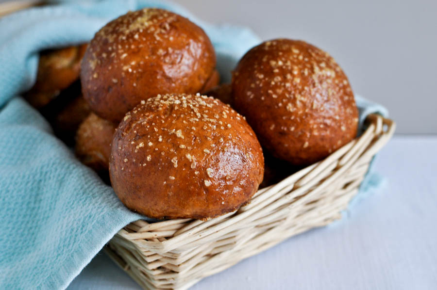 Tasty Kitchen Blog: Pretzel Rolls. Guest post by Jessica Merchant of How Sweet It Is, recipe submitted by TK member Erin Raatjes of The Misadventures of Myrtle Grace.