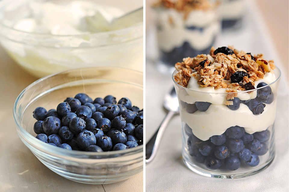 Tasty Kitchen Blog: Lemon Cream Granola Parfait. Guest post by Amy Johnson of She Wears Many Hats. Lemon Cream recipe submitted by TK member The Suzzzz of Nachista's Nest, Great Granola recipe from TK member Three Many Cooks.