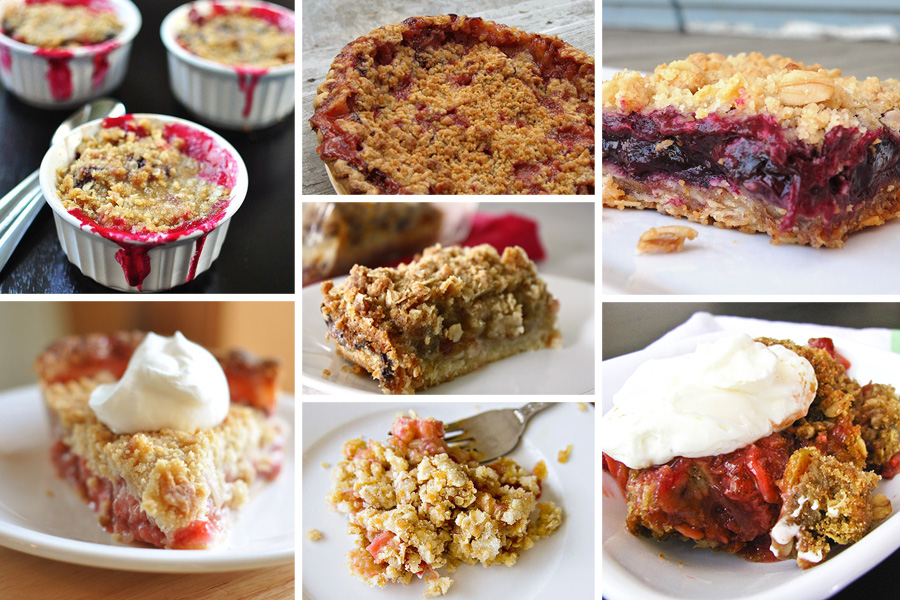 Tasty Kitchen Blog: The Theme is Rhubarb! (Baked Goods)