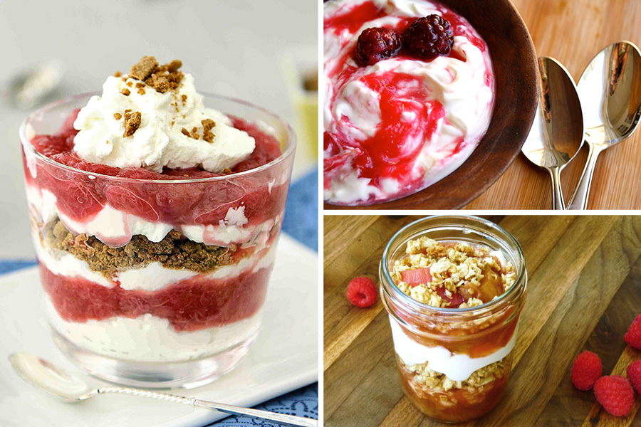 Tasty Kitchen Blog: The Theme is Rhubarb! (Parfaits)