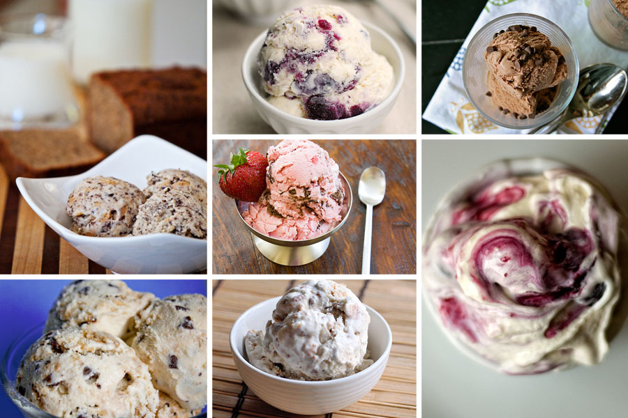 Tasty Kitchen Blog: The Theme is Ice Cream! (Egg-Free, Baked Goods)