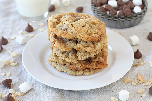 Tasty Kitchen Blog: Toffee Crunch Cookies. Guest post by Maria Lichty of Two Peas and Their Pod, recipe submitted by TK member Aimee of Shugary Sweets.