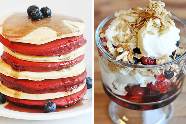 Tasty Kitchen Blog: Red, White and Blue (Breakfast)