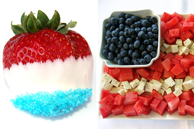 Tasty Kitchen Blog: Red, White and Blue (Fruit)