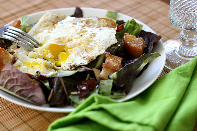 Tasty Kitchen Blog Breakfast Salad. Guest post by Natalie Perry of Perry's Plate, recipe submitted by TK member Sommer of A Spicy Perspective.