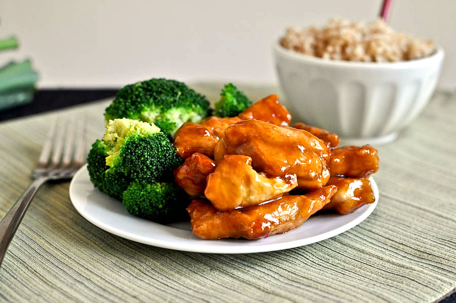 Tasty Kitchen Blog: General Tso's Chicken. Guest post by Jessica Merchant of How Sweet It Is, recipe submitted by TK member Rebecca of Foodie with Family.