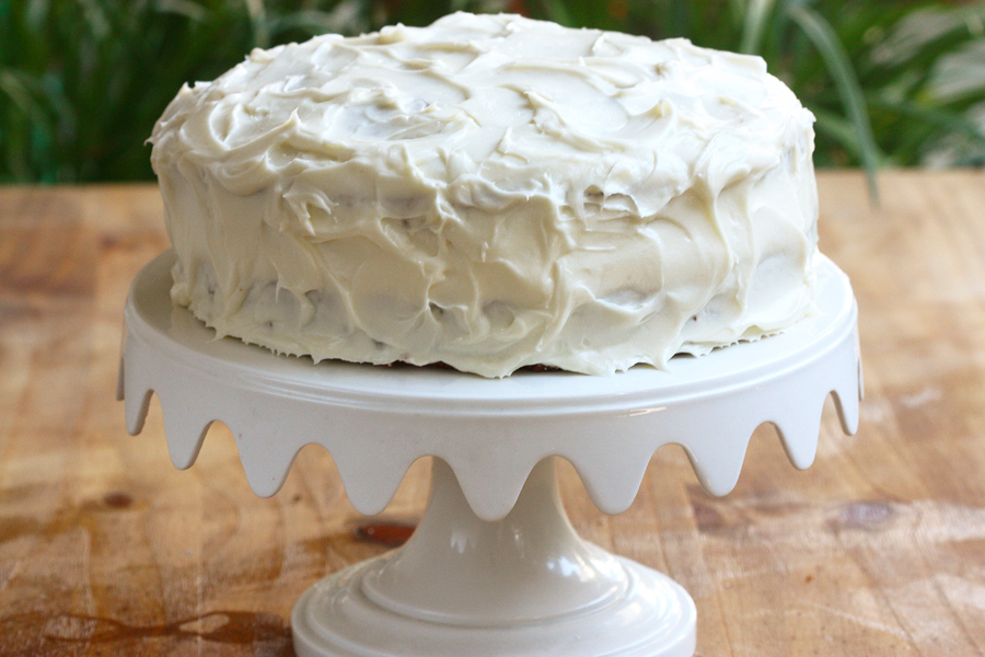 Old Fashioned Carrot Cake With Buttermilk Glaze