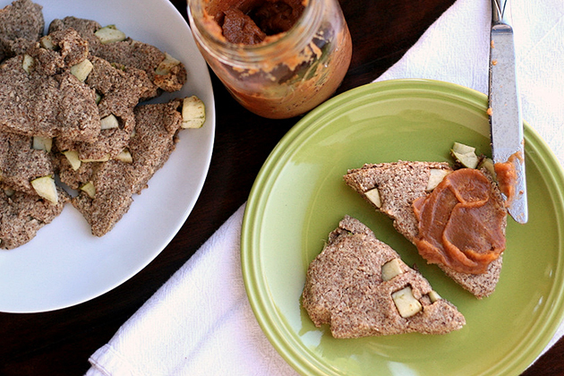 Tasty Kitchen Blog: Gluten-Free Apple, Ginger and Spice Scones. Guest post by Natalie Perry of Perry's Plate, recipe submitted by TK member Jenni Hulet of The Urban Poser.
