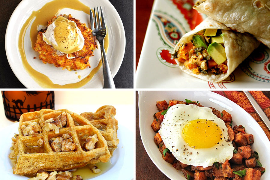 Tasty Kitchen Blog: Ode to the Sweet Potato (Breakfast)