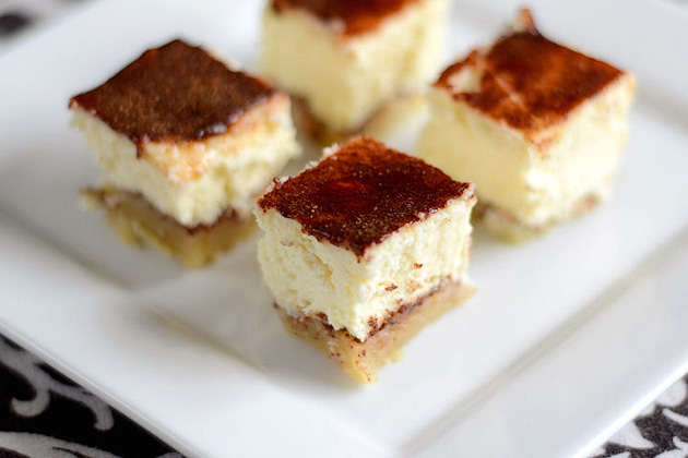 Tasty Kitchen Blog: Snickerdoodle Cheesecake Bites. Guest post by Erica Kastner of Cooking for Seven, recipe submitted by TK member Amy of A Stool at the Counter.