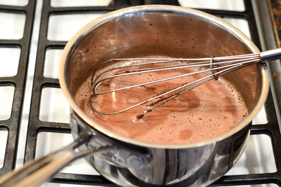 Tasty Kitchen Blog: Homemade Hot Chocolate. Guest post and recipe from Erica Kastner of Cooking for Seven.