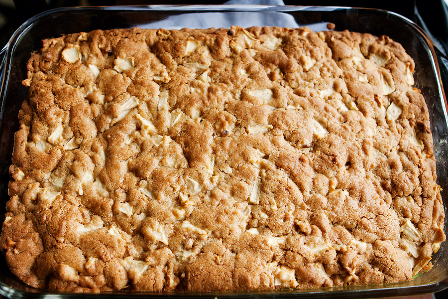 Tasty Kitchen Blog: Ozark Apple Pudding. Guest post by Amber Potter of Sprinkled with Flour, recipe submitted by TK member novakgirls.