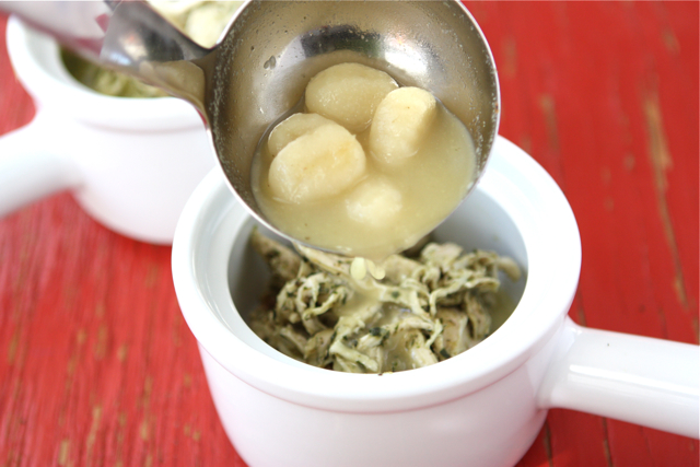 Tasty Kitchen Blog: Zuppa di Gnocchi e Pesto. Guest post by Dara Michalski of Cookin' Canuck, recipe submitted by TK member Melanie of The Coupon Goddess.