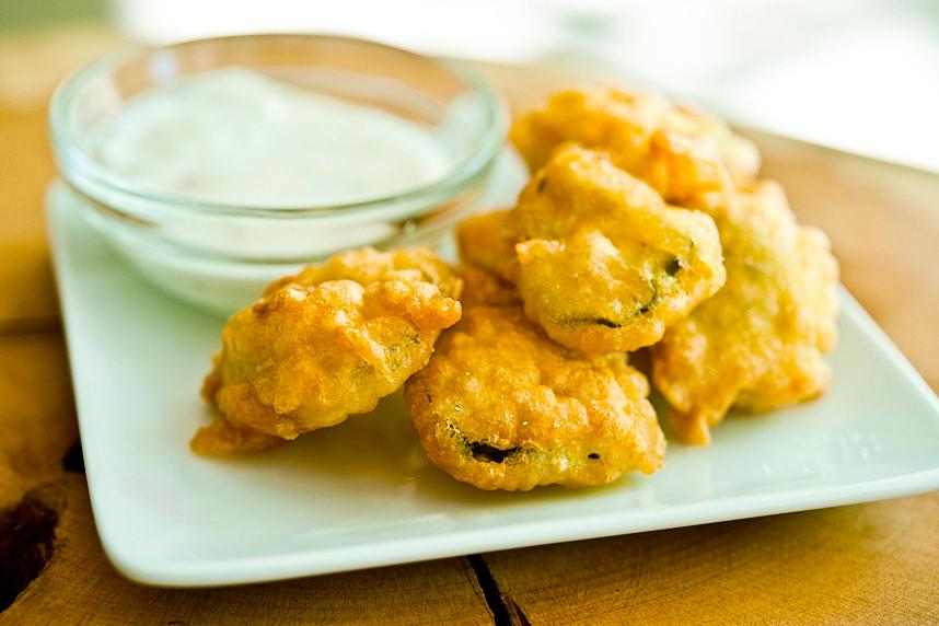 Beer Battered Fried Pickles Tasty Kitchen Blog